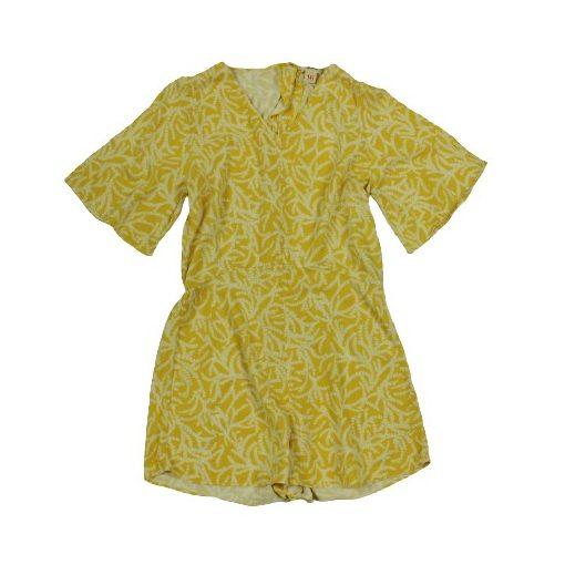 Bellerose mintás sárga overál