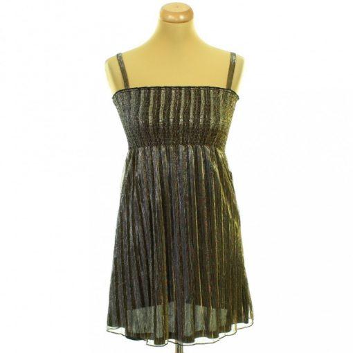 H&M aranyszálas ruha