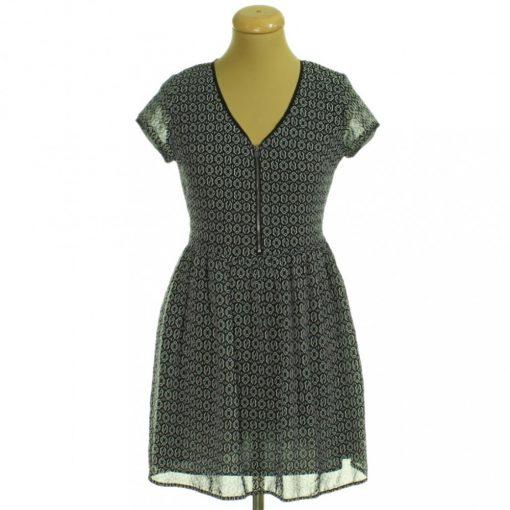 Select mintás muszlin ruha
